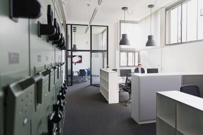 Neukonzeptionierung Bürofläche